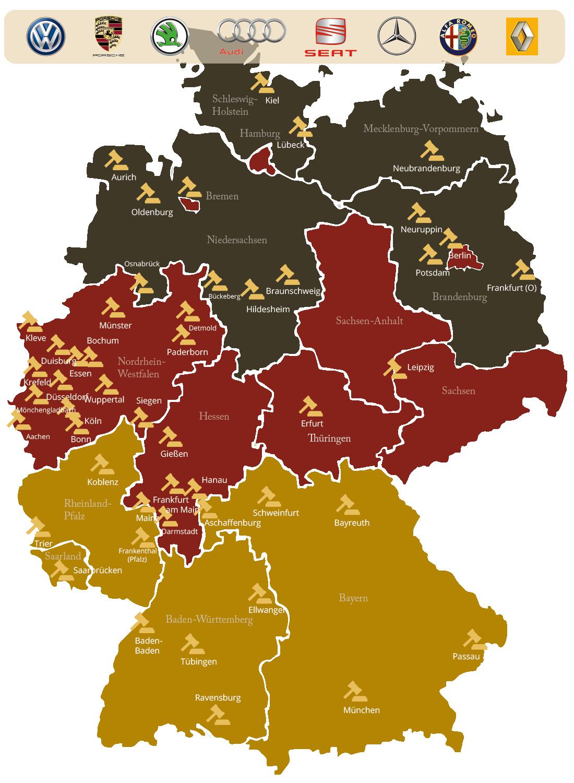 Dieselskandal Urteile Deutschland